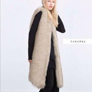 Brand New ZARA faux waistcoat